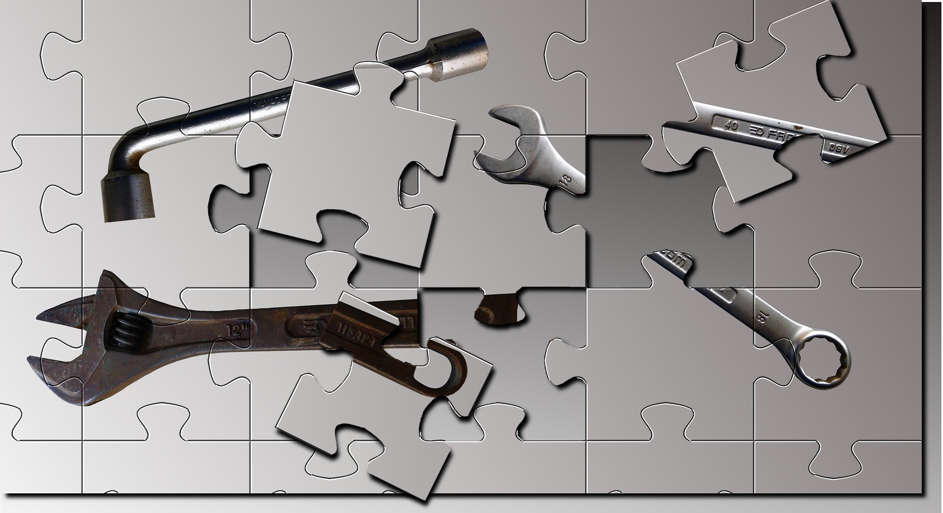 Ein Teaser ist wie ein Puzzle